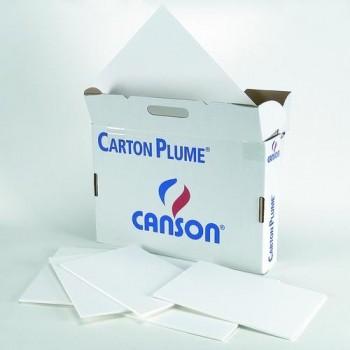 CARTÓN PLUMA HOJA A4 3MM. BLANCO CANSON