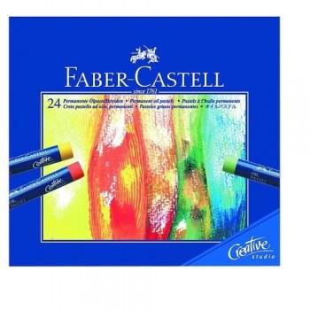 PASTEL AL ÓLEO 24 UN. CREATIVE STUDIO FABER CASTELL