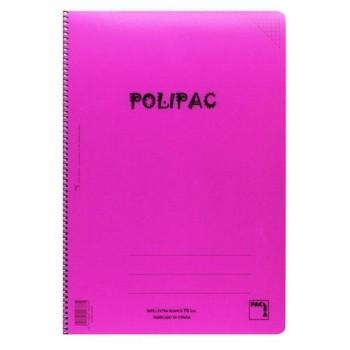 CUADERNO 80 FOLIO SURTIDO 4X4 C.M. PACSA POLIPAC