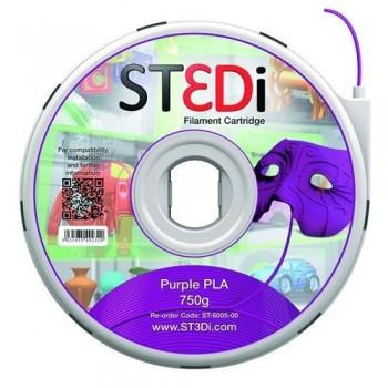 FILAMENTO PARA IMPRESORA 3D ST3DI MORADO 750G PLA