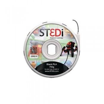 FILAMENTO PARA IMPRESORA 3D ST3DI NEGRO 750G PLA