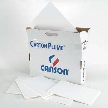 CARTÓN PLUMA HOJA 70X100 3 M/M BLANCO CANSON