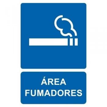 ETIQUETAS APLI SEÑAL AREA DE FUMADORES 11344