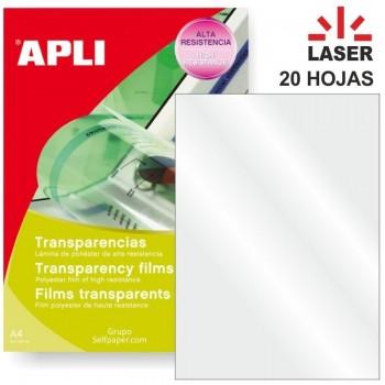 TRANSPARENCIA LASER CAJA 20 APLI 01268