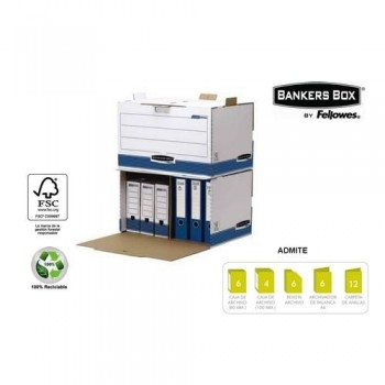 CONTENEDOR ARCHIVO ACCESO FRONTAL PLUS BANKERS BOX FELLOWES