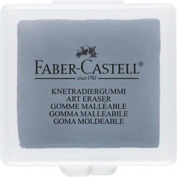 GOMA BORRAR MOLDEABLE PARA CARBONCILLO Y PASTEL FABER-CASTELL