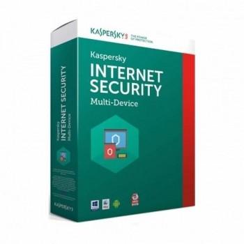 SOFTWARE KAPERSKY INTERNET SECURITY 2018( 1 LICENCIA)