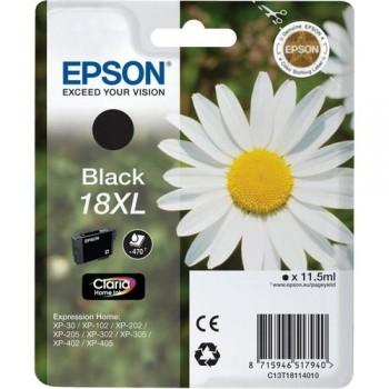 EPSON CARTUCHO TINTA C13T18114010 N 18XL NEGRO