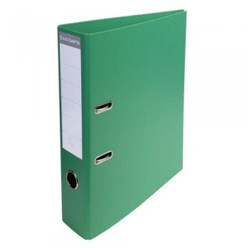 ARCHIVADOR A4 70MM PVC PREMTOUCH VERDE COLORES VIVOS EXACOMPTA