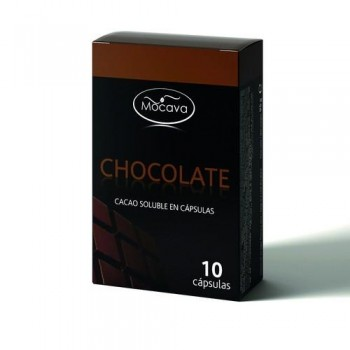 CÁPSULAS COMPATIBLES CHOCOLATE 10 UN. MOCAVA
