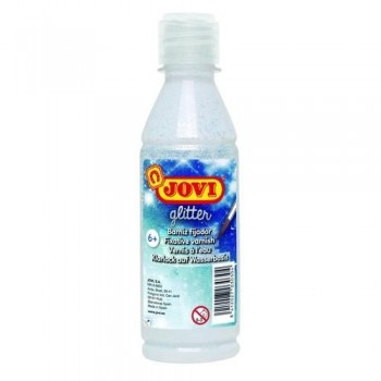 BARNIZ BRILLANTE GLITTER BOTELLA 250 ML. JOVI