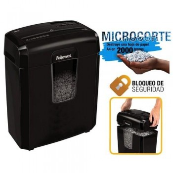 DESTRUCTORA CORTE EN PARTÍCULAS DE 4X35MM 8CD FELLOWES