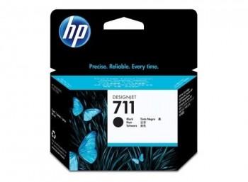 HP CARTUCHO ORIGINAL 711 NEGRO DOBLE PACK CZ133A