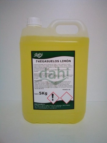 Friegasuelos 5 garrafa LIMON