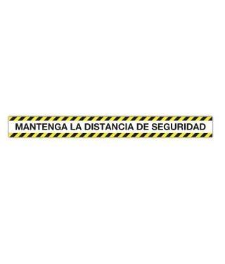 CINTA  APLI MANTENGA LA DISTANCIA DE SEGURIDAD