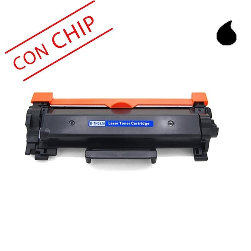 BROTHER TONER COMPATIBLE TN2420 /2410CON CHIP