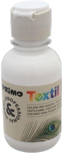PINTURA TEXTIL PRIMO BOTE 125ML BLANCA