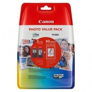CANON CARTUCHO ORIGINAL PACK NEGRO 540XL Y COLOR 541XL