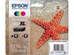 EPSON CARTUCHO ORIGINAL  MULTIPACK 603XL 8,9ML 4ML