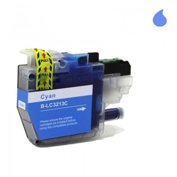 BROTHER CARTUCHO COMPATIBLE LC3213/3211 CYAN 15ML