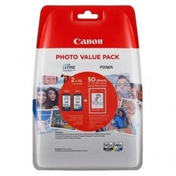 CANON CARTUCHO ORIGINAL PACK 545XL/546XL