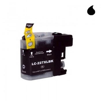 BROTHER CARTUCHO COMPATIBLE LC227-XL BK NEGRO 30ML