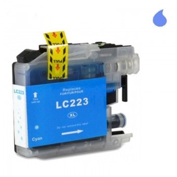 BROTHER CARTUCHO COMPATIBLE LC223 CYAN