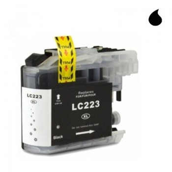 BROTHER CARTUCHO COMPATIBLE LC223 NEGRO