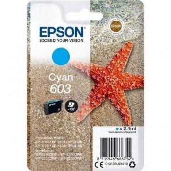 EPSON CARTUCHO ORIGINAL 603 CYAN